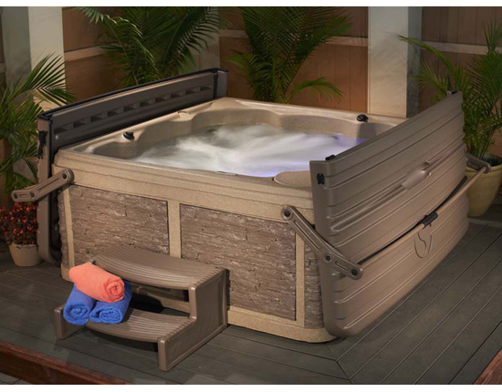 Spas 5 places vente de spa 5 places strong spas colorado for Salon exterieur resine pas cher
